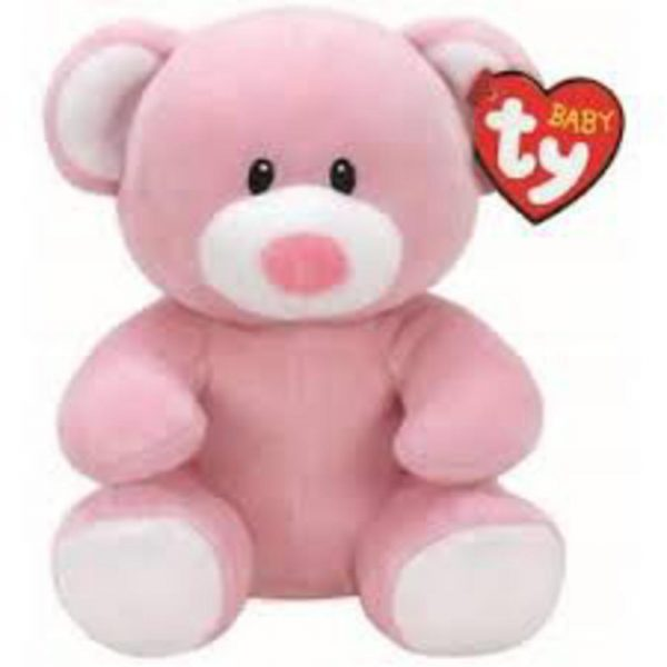 TY PRINCESS PINK BEAR 15 CM - TY