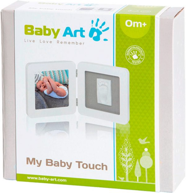 MY BABY TOUCH SINGLE WHITE - Baby Art