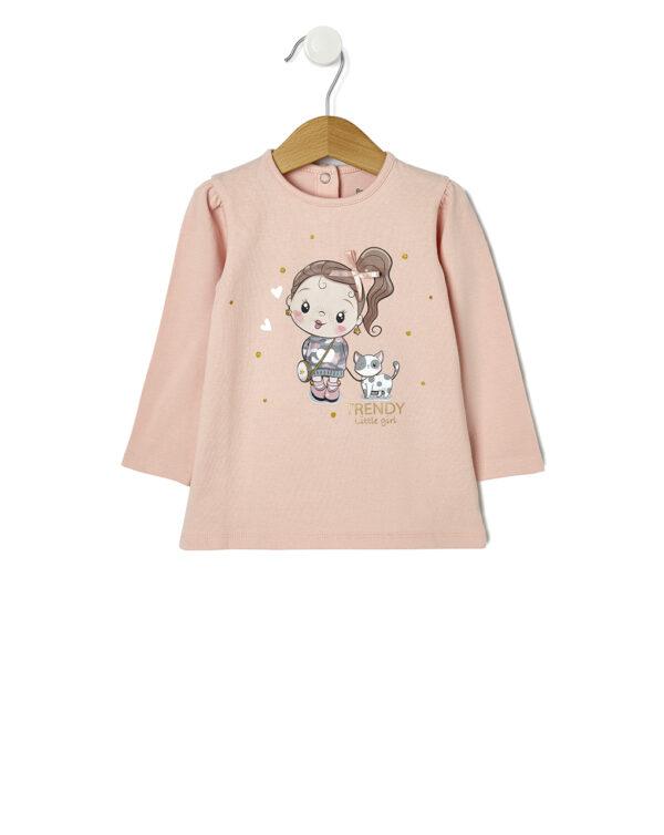 Camiseta con estampado de niña - Prenatal 2