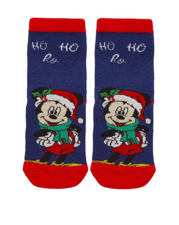 Calcetines antideslizantes navideños de Mickey Mouse - Prenatal 2