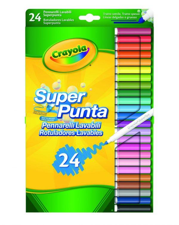 SET 24 ROTULADORES SUPERPUNTA - Crayola