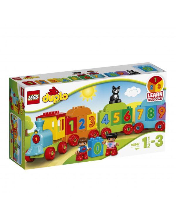 El tren de los números - Lego