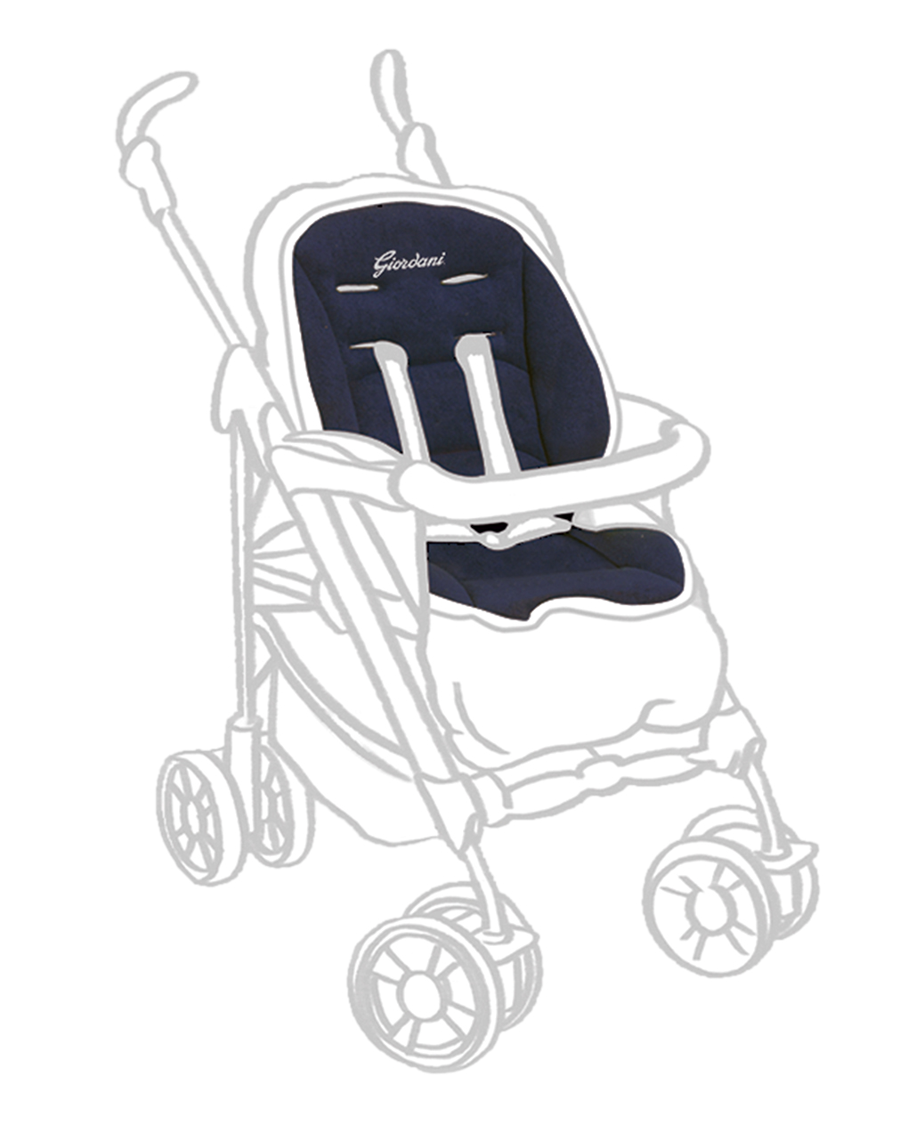 colchoneta silla paseo prenatal