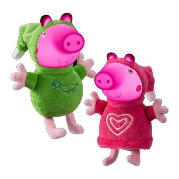 PELUCHES CON LUZ PEPPA GLOW FRIENDS - Peppa Pig
