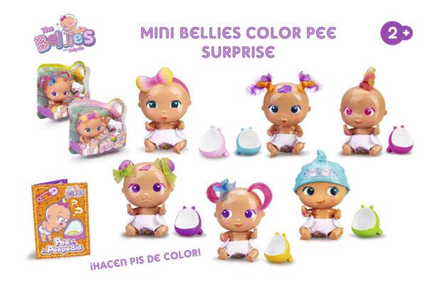 MINI BELLIES COLOR PEE SURPRISE! - THE BELLIES