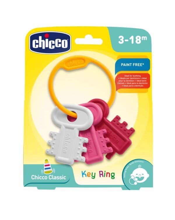 Llaves coloreadas rosa (3+m) - Chicco