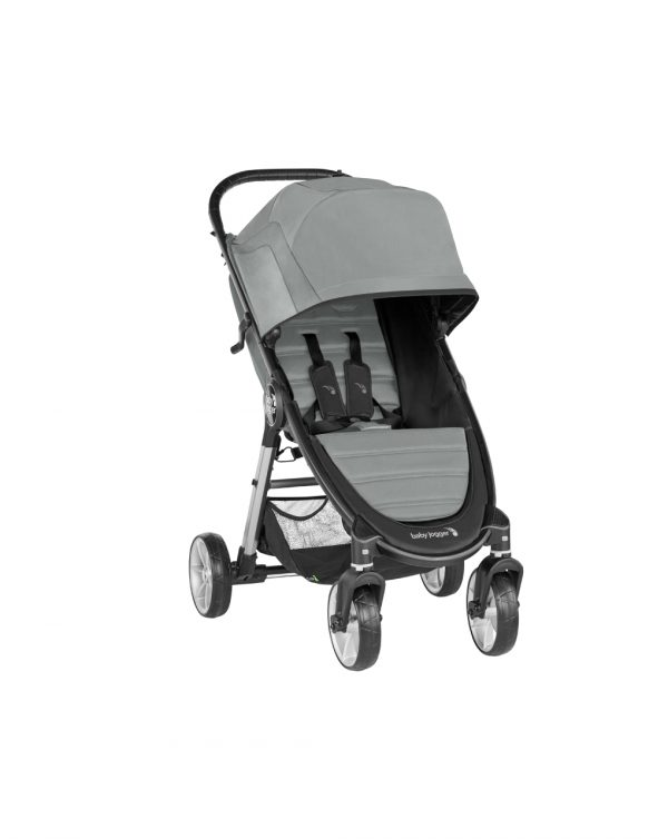 BABYJOOGER - SILLA PASEO CITY MINI 2 SLATE (4 RUEDAS) - Baby Jogger