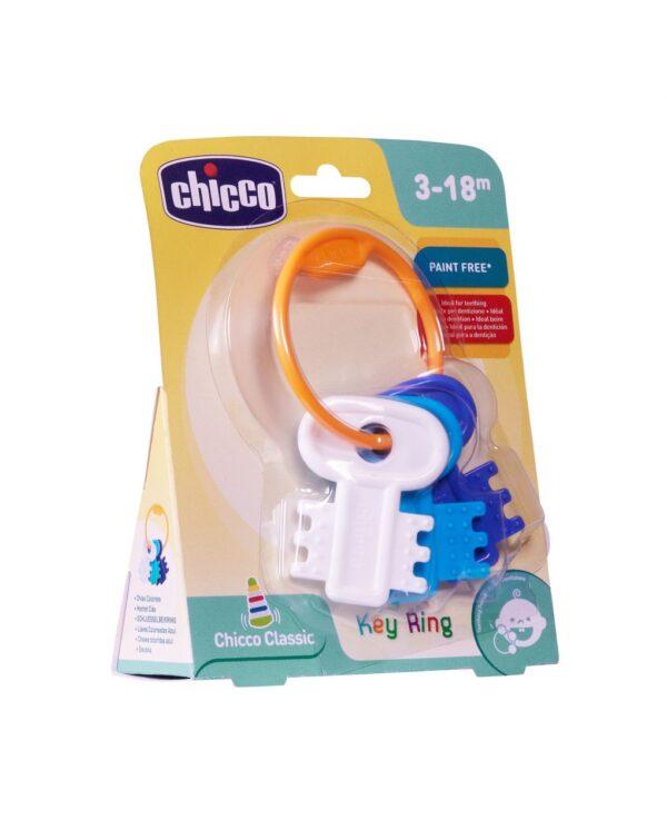 Llaves coloreadas azul (3m+) - Chicco