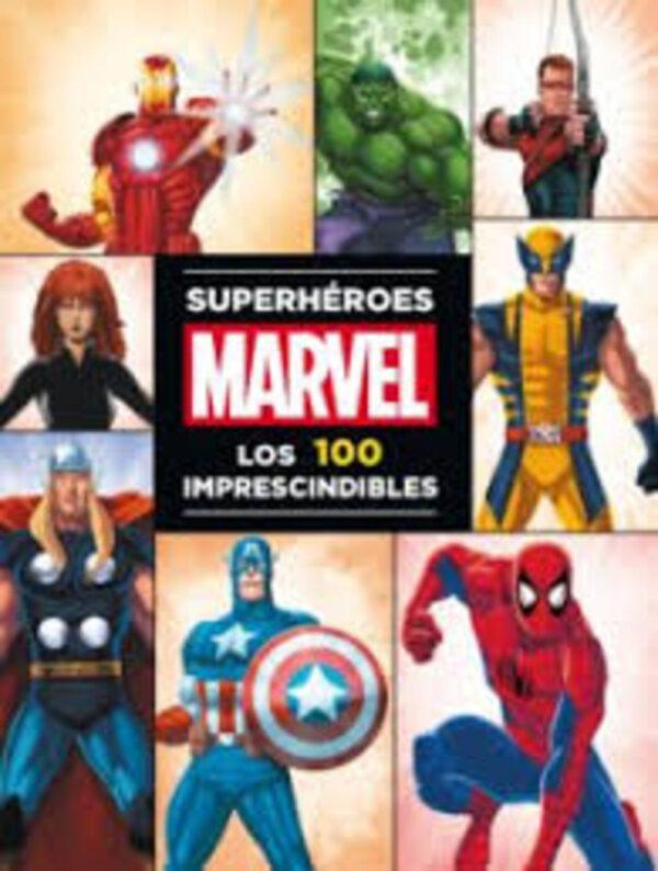 MARVEL SUPERHEROES. 100 IMPRESCINDIBLES - Logista Libros SL