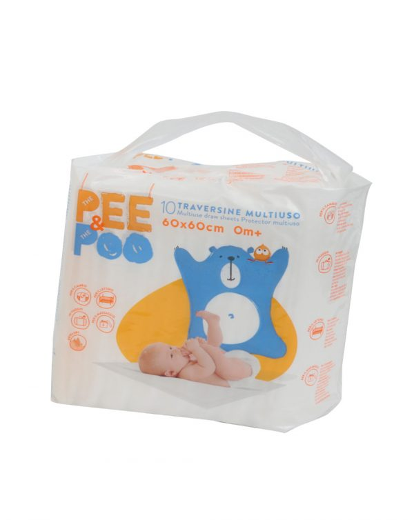 CAMBIADOR DESECHABLE PEE&POO 40X60CM - The Pee & The Poo