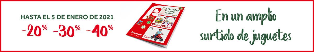 Folleto Juguetes CLEMENTONI banner promozional
