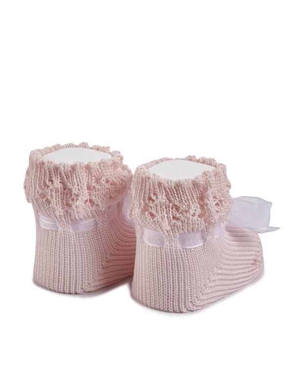 Zapato de punto con lacito - Prénatal