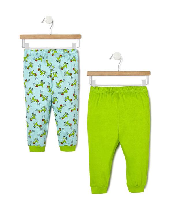 Pack 2 pijamas con estampado de dinosaurios - Prénatal