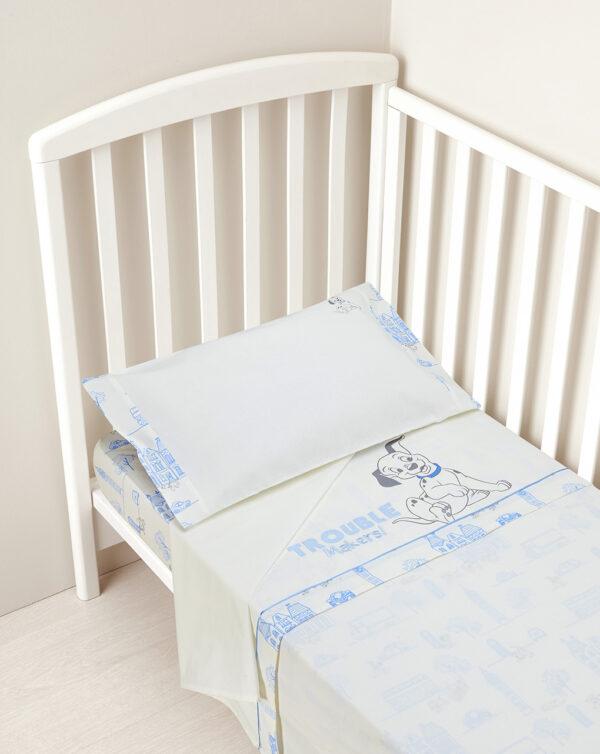 Juego de cama 3 piezas con estampado 101 dálmatas - Prénatal