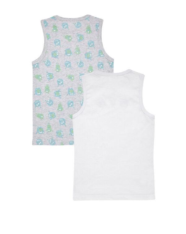 Pack 2 camisetas de tirantes con estampado monstruos - Prénatal