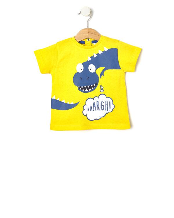 Camiseta con estampado de dinosaurio - Prénatal