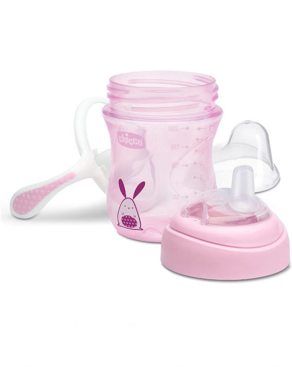 TAZA DE TRANSICIÓN MIX&MATCH 4M 200ML. - Chicco