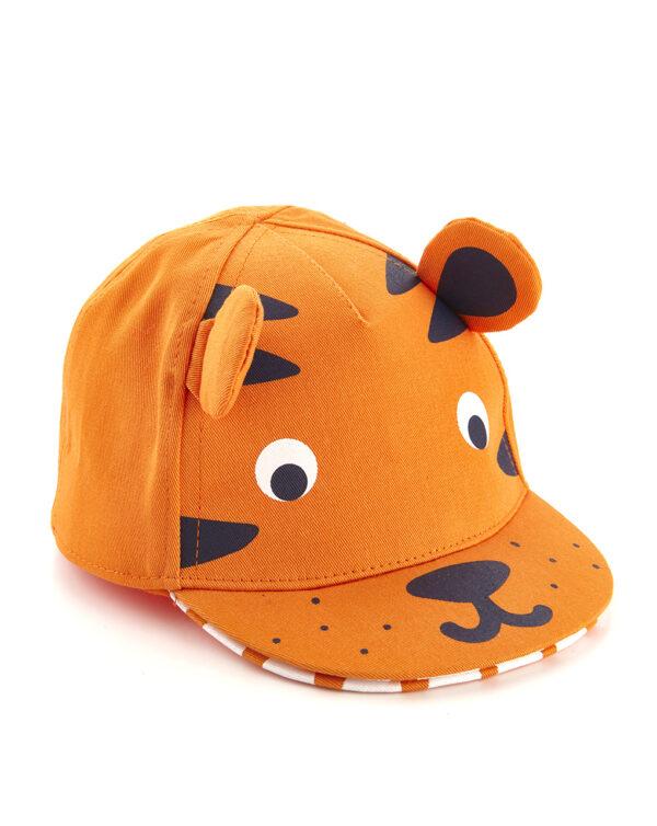 Gorra de béisbol con estampado de tigre - Prénatal