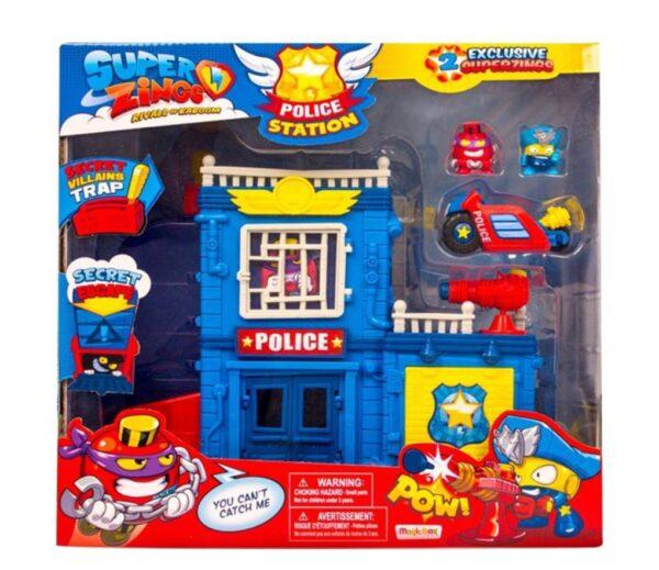 SUPERZINGS S - PLAYSET POLICE STATION - SUPERZINGS