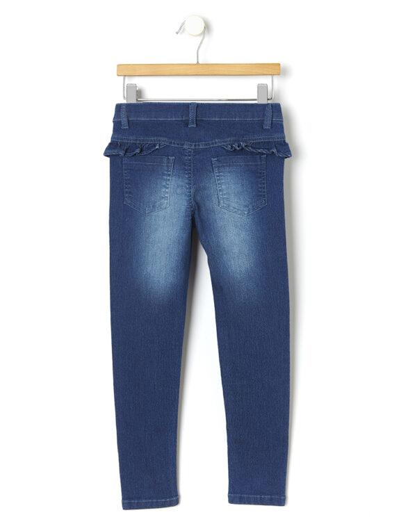 Pantalones de denim con fruncidos - Prénatal