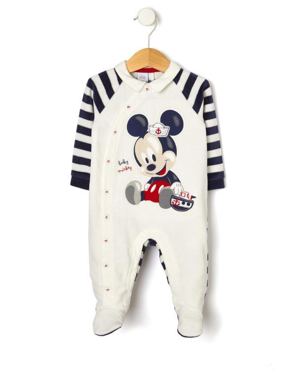 Pelele de chenilla con parche de Mickey Mouse