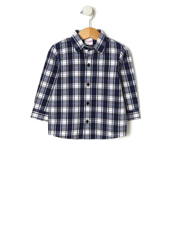 Camisa con estampado escocés - Prénatal