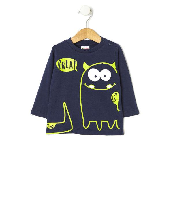 Camiseta con estampado monstruo - Prénatal