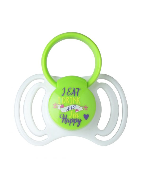 PACK 2 CHUPETES  SILICONA 0-6M CON ANILLA EAT&DRINK - That's Love