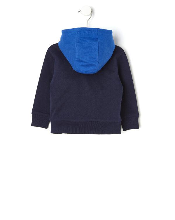 Cárdigan básico con capucha - Prénatal