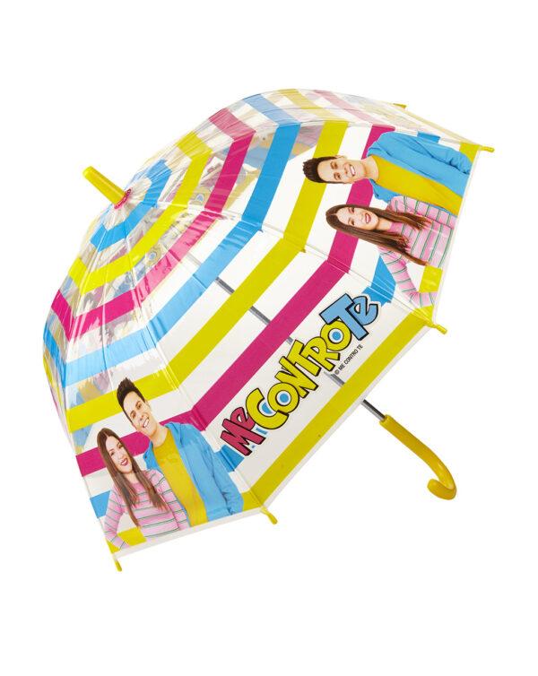Paraguas transparente con estampado Me contro Te - Prénatal