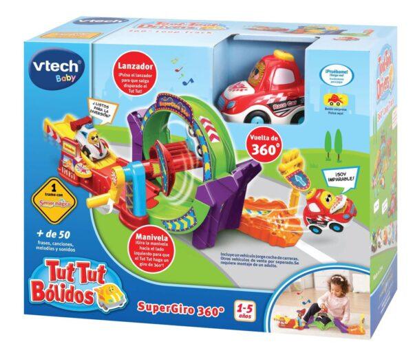 VTECH - TUT TUT BÓLIDOS SUPERGIRO 360º - Vtech