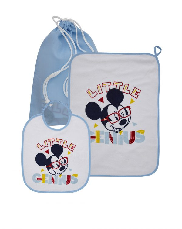 Set guardería 3 piezas estampado Mickey Mouse - Prénatal