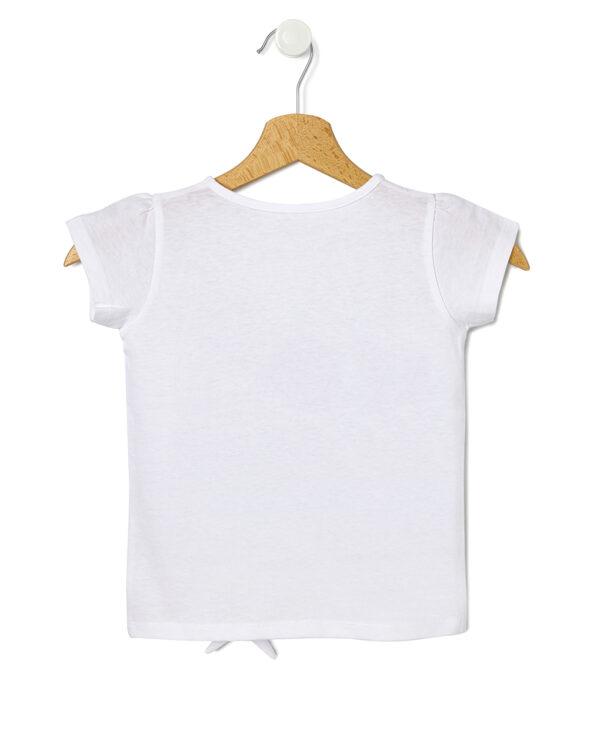 Camiseta con estampado maxi y nudo - Prénatal