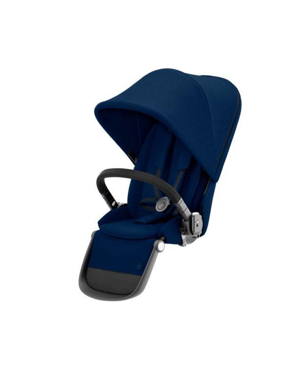 CYBEX – SILLA DE PASEO ADICIONAL PARA GAZELLE S BLACK NAVY BLUE - Cybex