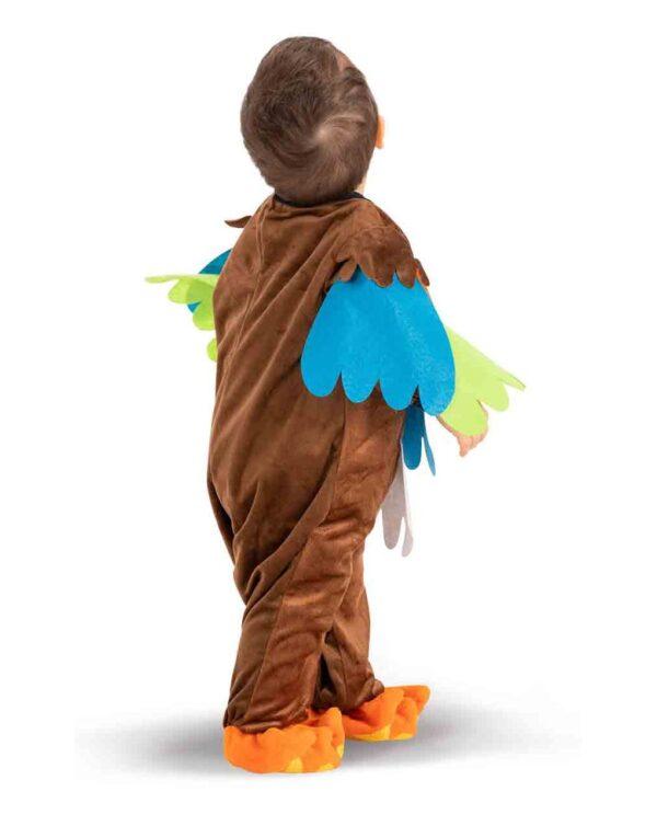 BUZO DE BÚHO DE PELUCHE CON CAPUCHA (6/12 MESES) - Carnival Toys