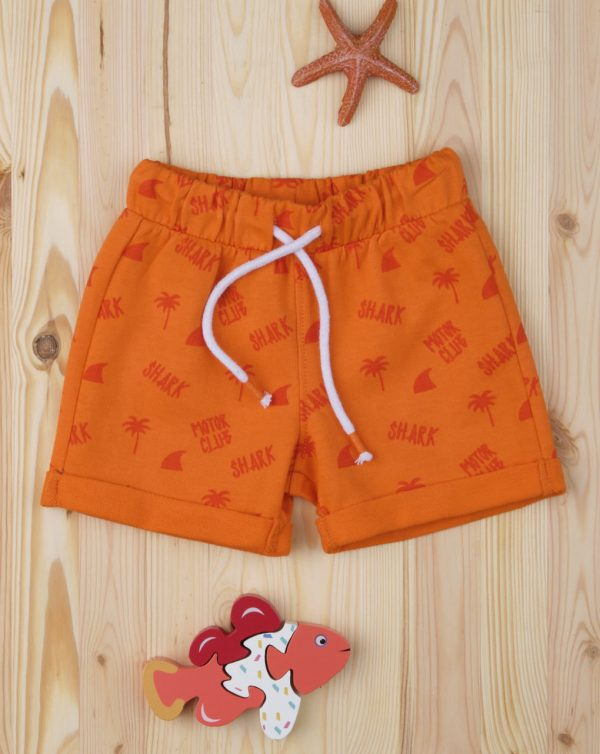 "Pantalones cortos de niño ""Orange Shark"" - Prénatal"