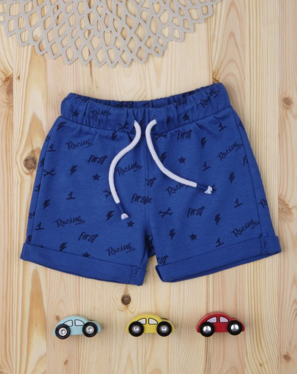 "Pantalones cortos de niño ""Blue Racing"" - Prénatal"