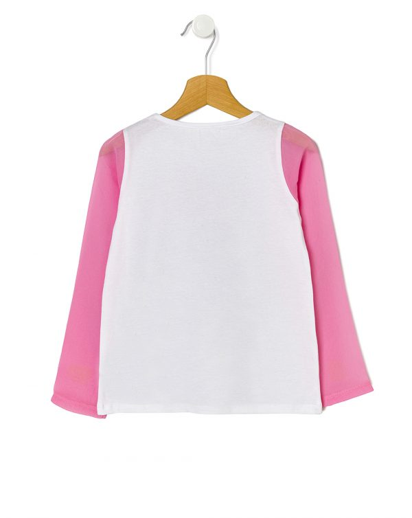 Camiseta con mangas de organza - Prénatal