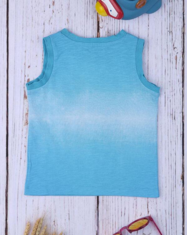 "Camiseta de tirantes de niño efecto ""Azul Degradado"" - Prénatal"