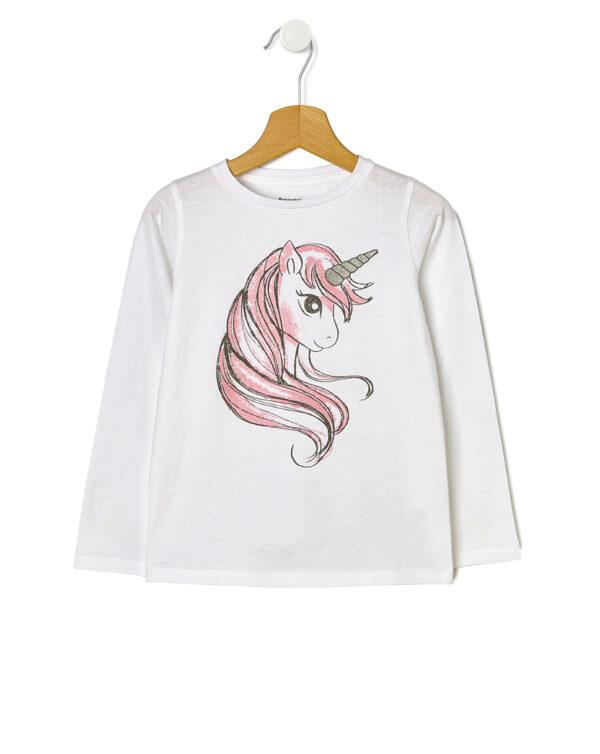 Camiseta básica con estampado de unicornio - Prénatal