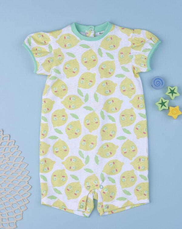 "Pijama de niña ""Limones"" - Prénatal"
