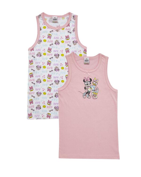 Pack de 2 camisetas de tirantes minnie - Prenatal 2