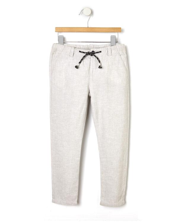 Elegantes pantalones de lino - Prénatal