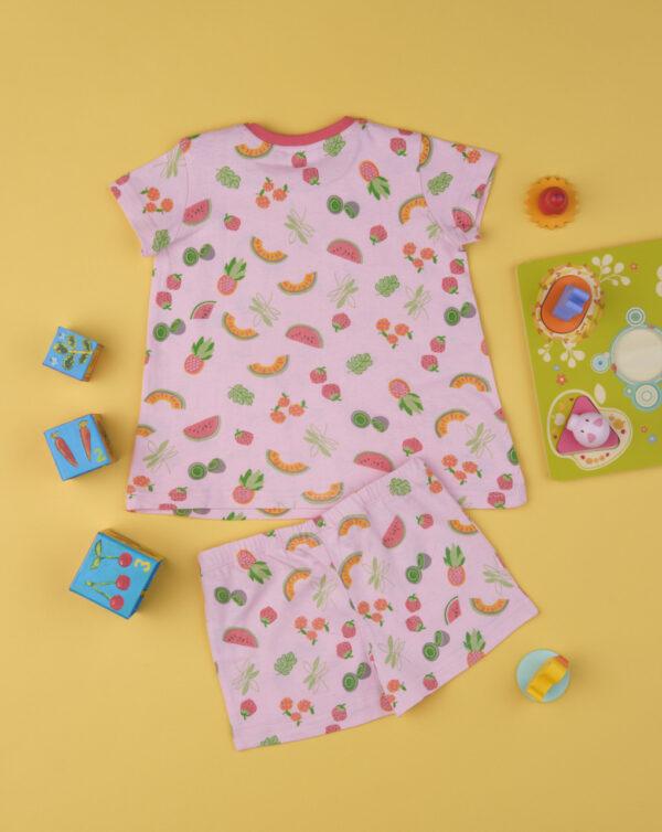 """Pack de 2 pijamas de niña """"Tropical"""" - Prénatal"""