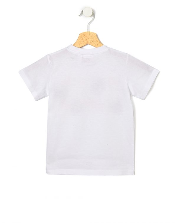 Camiseta de media manga con estampado Marvel - Prénatal