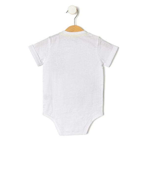Body de algodón con media manga - Prénatal