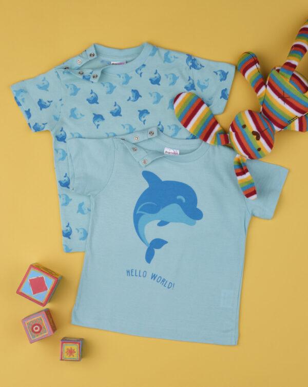 Pack de 2 conjuntos de niño «Delfín» - Prénatal