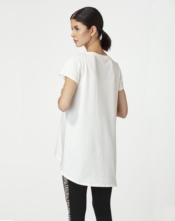 Camiseta premamá con estampado metalizado - Prénatal