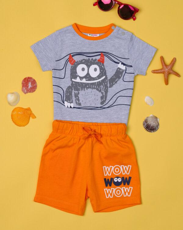 Conjunto de tejido de punto de niño «Wow» - Prénatal
