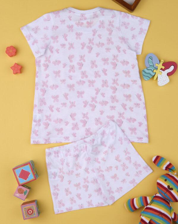 """Pack de 2 pijamas de niña """"Farfalla"""" - Prénatal"""